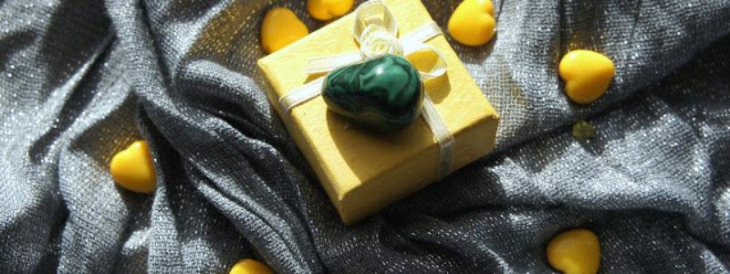 kamień szczęścia malachit