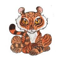 chiński zodiak - tygrys
