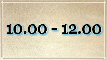 Osoby urodzone pomiędzy 10.00 a 12.00