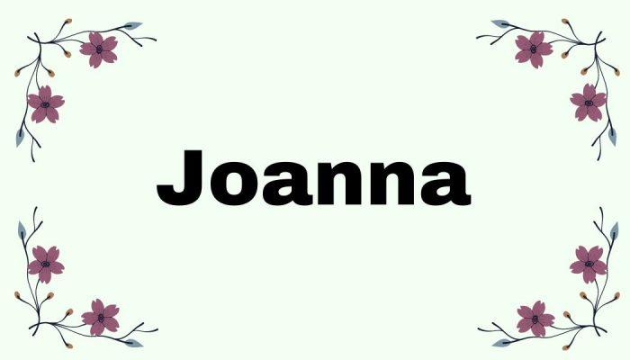 Magia imion - Joanna